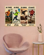 Running Be Strong  36x24 Poster poster-landscape-36x24-lifestyle-19