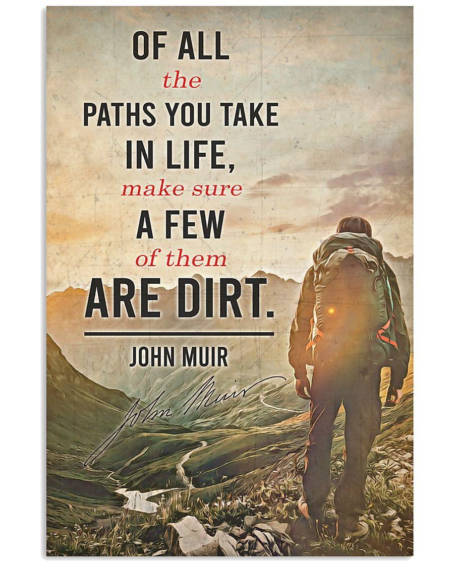 JM - Path Quote 24x36 Poster