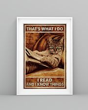 Cat Read Know Things 24x36 Poster lifestyle-poster-5