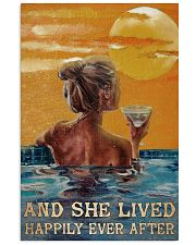 Drinking Swimming Happily Ever After  24x36 Poster front