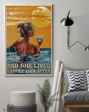 Drinking Swimming Happily Ever After  24x36 Poster lifestyle-poster-1