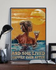 Drinking Swimming Happily Ever After  24x36 Poster lifestyle-poster-2