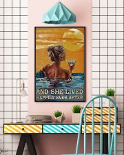 Drinking Swimming Happily Ever After  24x36 Poster lifestyle-poster-6