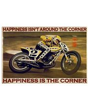 KR Happiness Is The Corner  36x24 Poster front