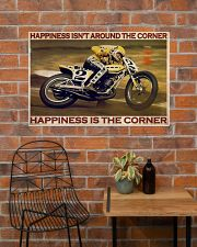 KR Happiness Is The Corner  36x24 Poster poster-landscape-36x24-lifestyle-20