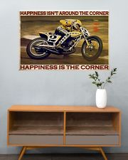 KR Happiness Is The Corner  36x24 Poster poster-landscape-36x24-lifestyle-21