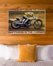 KR Happiness Is The Corner  36x24 Poster poster-landscape-36x24-lifestyle-23