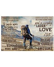 Hiking Good Day 36x24 Poster front
