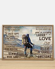 Hiking Good Day 36x24 Poster poster-landscape-36x24-lifestyle-03