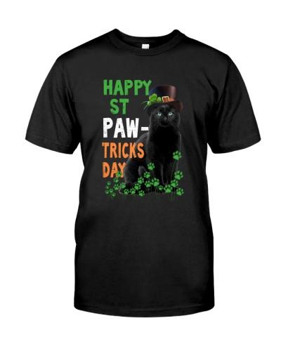 ST Patrick's Day Cat