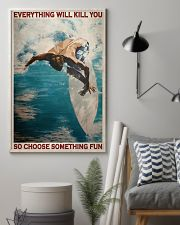 Surfing Choose Something Fun 3  24x36 Poster lifestyle-poster-1