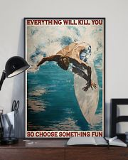 Surfing Choose Something Fun 3  24x36 Poster lifestyle-poster-2