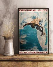 Surfing Choose Something Fun 3  24x36 Poster lifestyle-poster-3