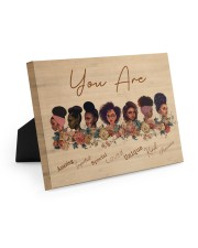 Black Girls-R Easel-Back Gallery Wrapped Canvas tile