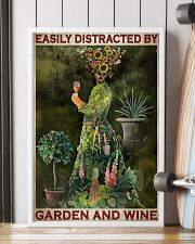 Easily Distracted By Garden And Wine 24x36 Poster lifestyle-poster-4