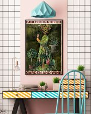 Easily Distracted By Garden And Wine 24x36 Poster lifestyle-poster-6