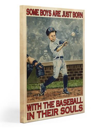 Boy Born With Baseball