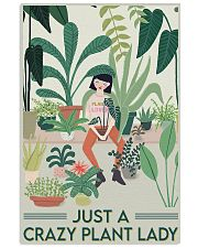 Crazy Plant Lady 24x36 Poster front
