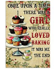 Girl Loved Baking 24x36 Poster front
