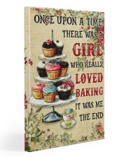 Girl Loved Baking 20x30 Gallery Wrapped Canvas Prints thumbnail