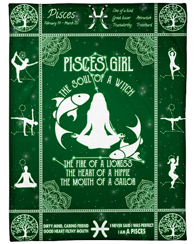 Pisces Girl Yoga
