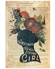 JA Obstinate Headstrong Girl  24x36 Poster front