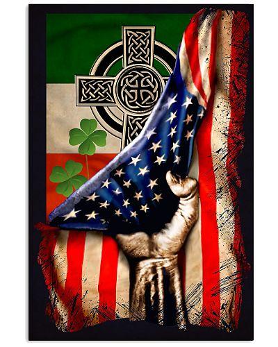 Celtic Cross US Flag