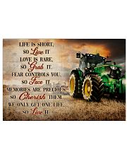 JD Life Is Short 36x24 Poster front