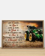 JD Life Is Short 36x24 Poster poster-landscape-36x24-lifestyle-03