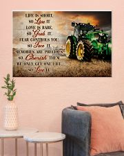 JD Life Is Short 36x24 Poster poster-landscape-36x24-lifestyle-18