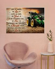 JD Life Is Short 36x24 Poster poster-landscape-36x24-lifestyle-19