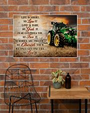 JD Life Is Short 36x24 Poster poster-landscape-36x24-lifestyle-20