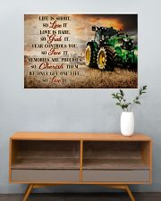 JD Life Is Short 36x24 Poster poster-landscape-36x24-lifestyle-21