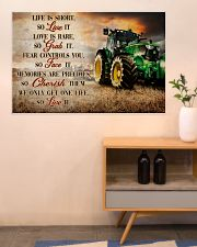 JD Life Is Short 36x24 Poster poster-landscape-36x24-lifestyle-22