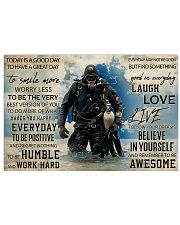 Diver Good Day 36x24 Poster front