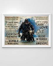 Diver Good Day 36x24 Poster poster-landscape-36x24-lifestyle-02