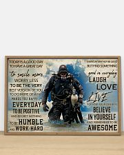 Diver Good Day 36x24 Poster poster-landscape-36x24-lifestyle-03
