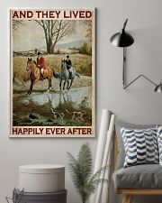 Fox Hunting Couple And They Lived Happily 24x36 Poster lifestyle-poster-1