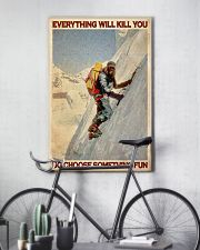 Old Mountaineer Choose Something Fun 24x36 Poster lifestyle-poster-7