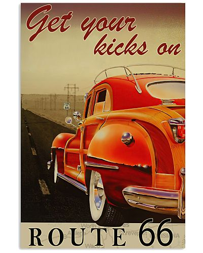 Route 66 Highway poster