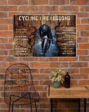 Cycling Life Lessons 36x24 Poster poster-landscape-36x24-lifestyle-20