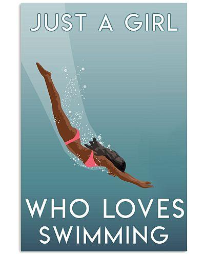 A Girl Loves Swimming