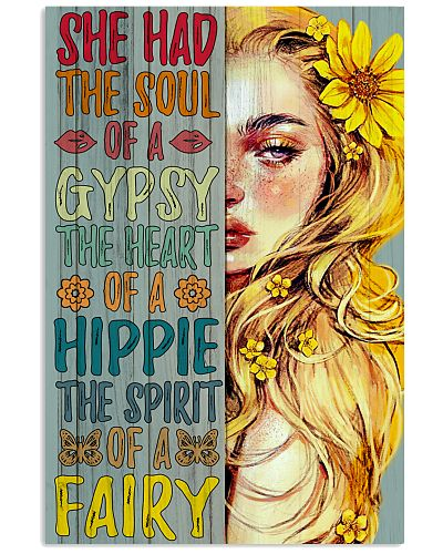 Hippie Girl She Had The Soul Of A Gypsy