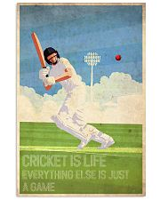Cricket Is Life 24x36 Poster front