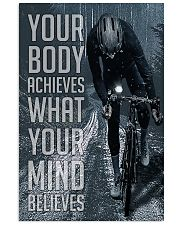 Cycling Your Body Achieves 24x36 Poster front