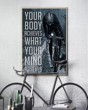 Cycling Your Body Achieves 24x36 Poster lifestyle-poster-7