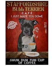 Staffordshire Bull Terrier Shuh Duh Fuh Cup Coffee 24x36 Poster front