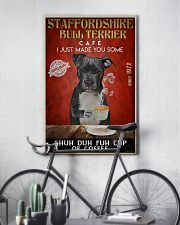 Staffordshire Bull Terrier Shuh Duh Fuh Cup Coffee 24x36 Poster lifestyle-poster-7