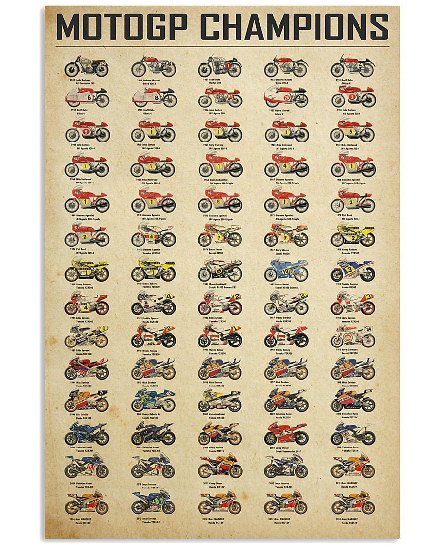 MotoGP Champions  24x36 Poster