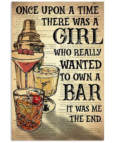 Girl Open A Bar